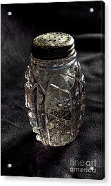 Found  Salt Shaker Acrylic Print by   Joe Beasley