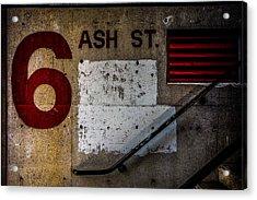 Foundation Number Nineteen Acrylic Print by Bob Orsillo