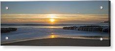 Four Mile Beach Sunset Acrylic Print by Loree Johnson