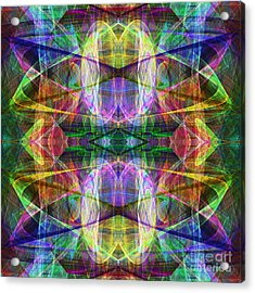 Fourth Dimension Ap130511-22-2b Acrylic Print by Wingsdomain Art and Photography