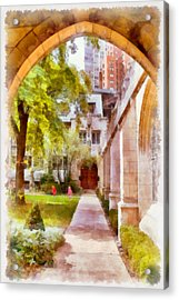 Fourth Presbyterian - A Chicago Sanctuary Acrylic Print by Christine Till