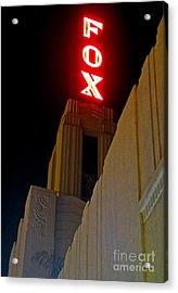 Fox Theater - Pomona - 02 Acrylic Print by Gregory Dyer