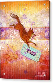 Foxtrot Acrylic Print by Aimee Stewart