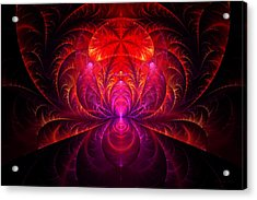 Fractal - Jewel Of The Nile Acrylic Print by Mike Savad