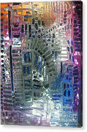 Fracture Acrylic Print by Michael Kulick