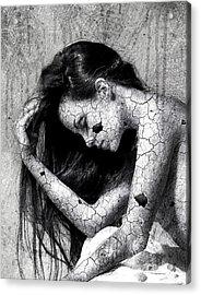 Fragile Acrylic Print by Gary Bodnar