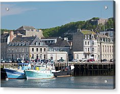 France, Normandy, Cherbourg-octeville Acrylic Print by Walter Bibikow