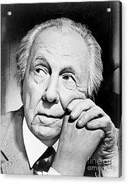 Frank Lloyd Wright Acrylic Print by Granger