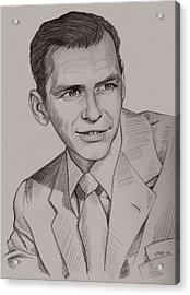 Frank Sinatra Acrylic Print by Jennifer Hotai