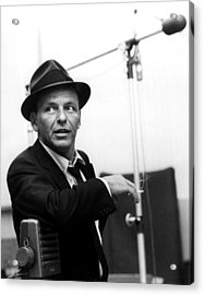 Frank Sinatra Acrylic Print by Retro Images Archive