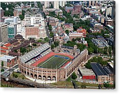 Franklin Field University City Pennsylvania Acrylic Print by Bill Cobb
