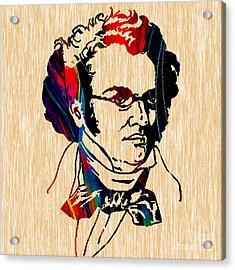 Franz Shubert Collection Acrylic Print by Marvin Blaine