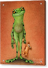 Fred And Ted... Acrylic Print by Will Bullas