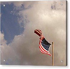 Freedom Moves Itself 2013 Acrylic Print by James Warren