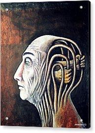 Freedom Of Compulsions Habits And Addictions Acrylic Print by Paulo Zerbato