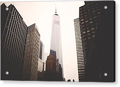 Freedom Tower  Acrylic Print by Amber Fite