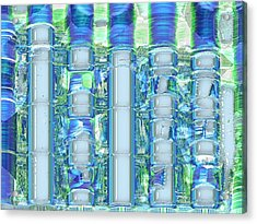 Freeze Warning Acrylic Print by Wendy J St Christopher