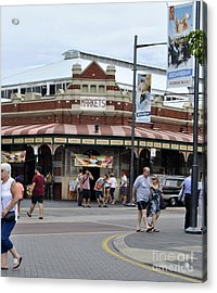 Fremantle Market Place Acrylic Print by Bobby Mandal