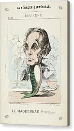 French Caricature - Le Maquereau Acrylic Print by British Library