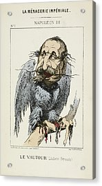 French Caricature - Le Vautour Acrylic Print by British Library