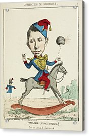 French Caricature - Titi-louis Acrylic Print by British Library