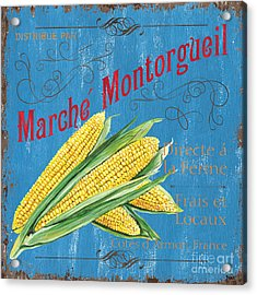 French Market Sign 2 Acrylic Print by Debbie DeWitt
