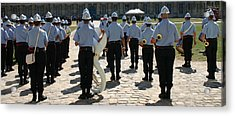 French Military Band Acrylic Print by A Morddel