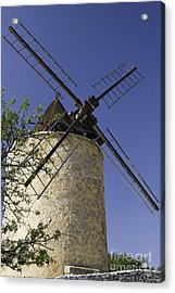 French Moulin Acrylic Print by Bob Phillips