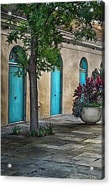 French Quarter Alley Acrylic Print by Brenda Bryant