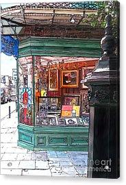 French Quarter Art Gallery Acrylic Print by John Boles