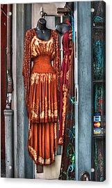 French Quarter Clothing Acrylic Print by Brenda Bryant