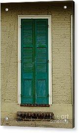 French Quarter Door - 15 Acrylic Print by Susie Hoffpauir