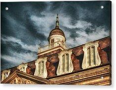 French Quarter Skies Acrylic Print by Brenda Bryant