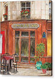 French Storefront 1 Acrylic Print by Debbie DeWitt