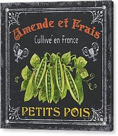French Vegetables 2 Acrylic Print by Debbie DeWitt