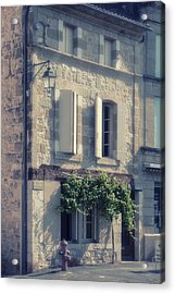 French Village House Acrylic Print by Georgia Fowler