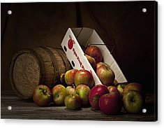 Fresh From The Orchard I Acrylic Print by Tom Mc Nemar