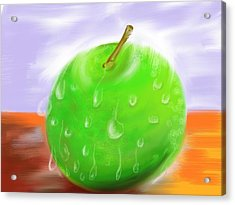 Fresh Fruit Acrylic Print by Twinfinger
