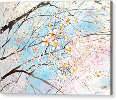 Fresh Pick No.392 Acrylic Print by Sumiyo Toribe
