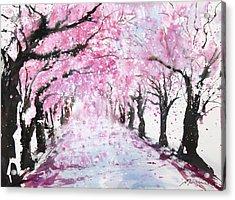 Fresh Pick No.393 Acrylic Print by Sumiyo Toribe