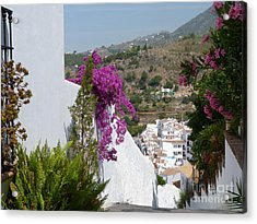 Frigiliana Vista Acrylic Print by Phil Banks