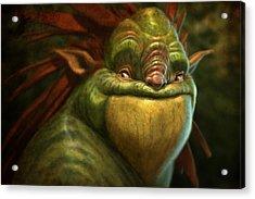 Frogman Acrylic Print by Aaron Blaise