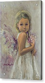 From Heaven... Acrylic Print by Dorina  Costras