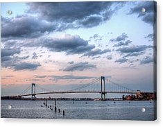 From Queens To The Bronx Acrylic Print by JC Findley