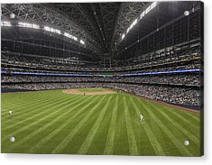 From The Outfield Acrylic Print by CJ Schmit