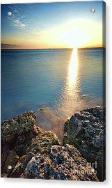From The Sea Rocks Acrylic Print by Eyzen Medina