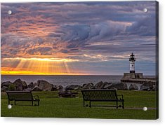Front Row Seats Acrylic Print by Mary Amerman