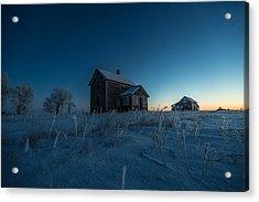 Frozen And Forgotten Acrylic Print by Aaron J Groen