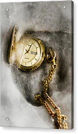 Frozen In Time Acrylic Print by Peter Chilelli