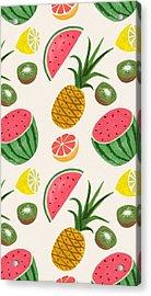 Fruit Cover Acrylic Print by Shop Caribbean